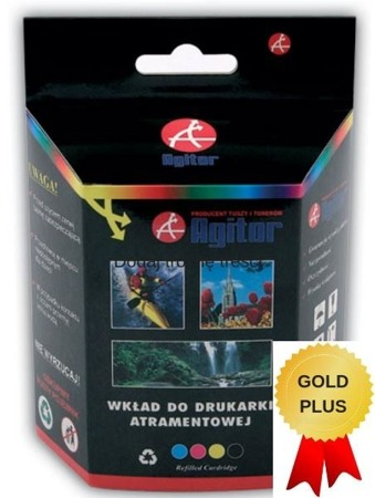 TUSZ AGR HP 300 XL CZARNY  CC641EE !!! 20ml !!! GOLD PLUS